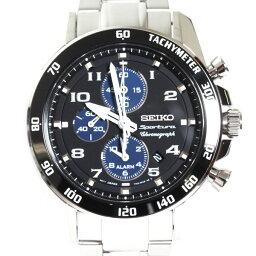 スポーチュラ 【送料無料】SEIKO セイコー メンズ腕時計 Sportura スポーチュラ クロノグラフ SNAE63P1 ブラック文字盤 メンズ 時計 【楽ギフ_包装】
