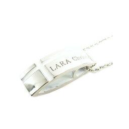 ララクリスティー LARA Christie*ララクリスティー マリンクロスネックレス [ WHITE Label ]レディース