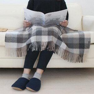 【送料無料】Silkeborg Plaids シルケボープレード ベビーアルパカ膝掛け [毛布 ショール ブランケット 自宅やオフィスで]