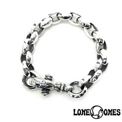 【LONE ONES】ロンワンズ【送料無料】【あす楽】/MF Bracelet: Silk Link - Medium (Plain Circle) シルクリンク−ミディアム(プレーンサークル)/シルバーブレスレット