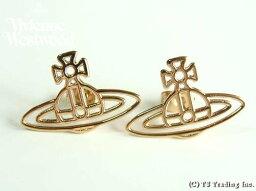 ヴィヴィアンウエストウッド Vivienne Westwood ヴィヴィアンウエストウッド Thin Lines Orb Stud Pierced Earrings ☆シン ラインズ オーブ スタッド ピアス(GOLD)【あす楽対応】【YDKG-k】【W3】【送料無料】
