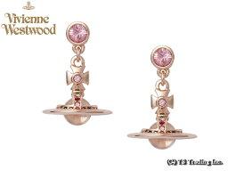 ヴィヴィアンウエストウッド Vivienne Westwood ヴィヴィアンウエストウッド New Petite Orb Pierced Earrings 新・プチ オーブ ピアス (PK GOLD)【あす楽対応】【YDKG-k】【W3】