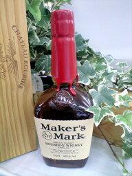 メーカーズマーク ウイスキー ウイスキー・バーボン メーカーズマーク バーボンウイスキー 45% 750ml シガーと一緒に楽しめます♪