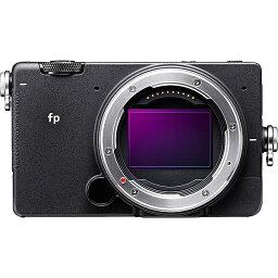 シグマ 【送料無料】SIGMA fp DIGITAL CAMERA ボディ ミラーレス一眼カメラ fp ボディ【在庫目安:お取り寄せ】| カメラ ミラーレスデジタル一眼レフカメラ 一眼レフ カメラ デジタル一眼カメラ