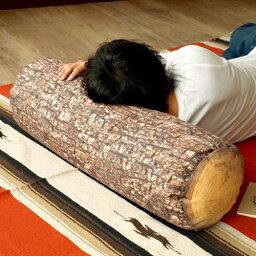 丸太クッション 送料無料(沖縄離島除く) 【あす楽14時まで】ドイツ製 Mero Wings Forest Collection Large Log メロウィングス フォレストコレクション《 ラージログ / 直径23×長さ80cm 》 クッション 北欧 綿◇ラウンド 円形 インテリア 丸太 デザイン plywood