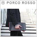 セカンドバッグ 【全品ポイント10倍】PORCO ROSSO(ポルコロッソ)リバーシブルクラッチバッグ [nouki4]