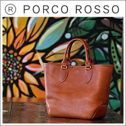 ハンドバッグ PORCO ROSSO(ポルコロッソ)ラウンドミニトートバッグ [nouki4]