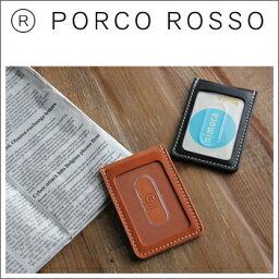 ポルコロッソ PORCO ROSSO(ポルコロッソ)縦型パスケース [sokunou]