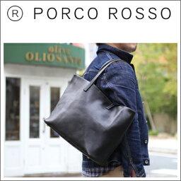 ポルコロッソ 【ただいま全商品ポイント10倍!】PORCO ROSSO(ポルコロッソ)メンズタウントートバッグ [nouki4]