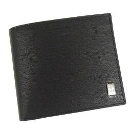 f8a47675f44f サイドカーガンメタル 【並行輸入品】 ダンヒル 財布 二つ折 サイドカーガンメタル L2RF32A ブラック 小銭