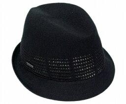 カンゴール KANGOL(カンゴール) 帽子 ハット LACE PANEL DUKE, Black