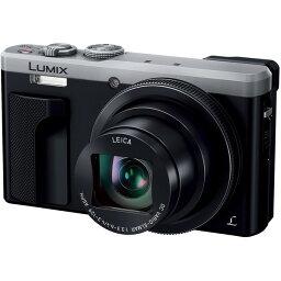 LUMIX 【送料無料】PANASONIC DMC-TZ85-S シルバー LUMIX [コンパクトデジタルカメラ (1810万画素)]