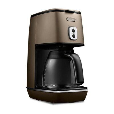 【送料無料】デロンギ(Delonghi) ICMI011J-BZ フューチャーブロンズ ディスティンタコレクション [コーヒーメーカー(〜6杯)]