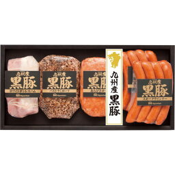 黒豚 南日本ハム 九州産黒豚5本詰ギフト (NO-40) [返品・交換・キャンセル不可][代引不可][同梱不可][ラッピング不可][海外発送不可]