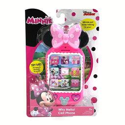 携帯電話 ミニー プレイスマートフォン Disney ミニーマウス セルフォン おもちゃ スマホ 携帯電話 スマートフォン 子ども用 メール便不可 12988