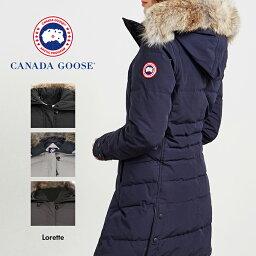カナダグース 【送料無料】並行輸入品 カナダグース ロレッタ 高級 ダウン CANADA GOOSE LORETTE 2090L ダウンジャケット コート アウター レディース 女性 婦人 上着