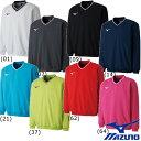 メンズウエア 送料無料◆MIZUNO◆ユニセックス スウェットシャツ(中厚素材) 62JC8001 テニス バドミントン ウェア ミズノ