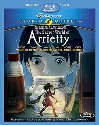借りぐらしのアリエッティ DVD 借りぐらしのアリエッティ [Blu-ray] ≪北米版≫ (2枚組Blu-ray/DVDコンボ) (オリジナル日本語・英語) 並行輸入