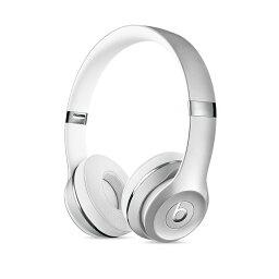 BEATS イヤホン 【国内正規品】Beats Solo3 Wireless Silver オンイヤーヘッドフォン シルバー MNEQ2PA/A