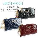 ミッシュマッシュ キーケース キーケース L字ファスナー レディース ブランド MISCH MASCH ミッシュマッシュ エナメル チェック柄 リゼシリーズ 67314
