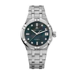 モーリスラクロア 正規品 MAURICE LACROIX モーリスラクロア アイコン オートマチック 35mm 自動巻き レディース腕時計 送料無料 AI6006-SS002-370-1