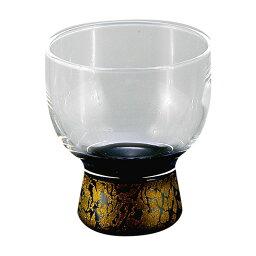 冷酒グラス 冷酒グラス 黒金ちらし ZA-448284 ギフト プレゼント 【RCP】