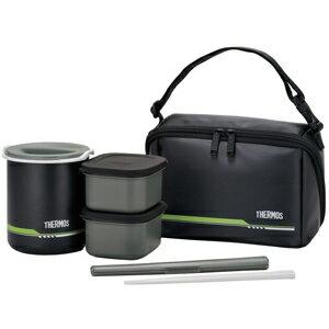 サーモス 保温弁当箱(茶碗2.5杯分)  DBQ‐502‐MTBK (マットブラック)