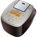 おどり炊き ECJ-XW100 パナソニック 可変圧力IH炊飯ジャー「可変圧力おどり炊き」(5.5合) SR−PA106−T (ブラウン)(送料無料)
