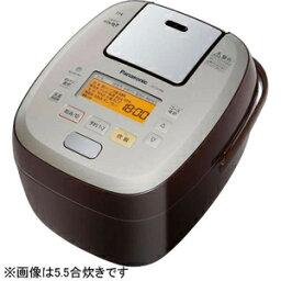 おどり炊き ECJ-XW100 パナソニック 可変圧力IH炊飯ジャー「可変圧力おどり炊き」(1升) SR−PA186−T (ブラウン)(送料無料)