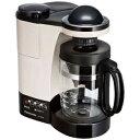 パナソニック コーヒーメーカー パナソニック ミル付き浄水コーヒーメーカー(5杯分) NC−R400−C (カフェオレ)(送料無料)