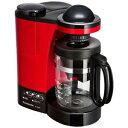 パナソニック コーヒーメーカー パナソニック ミル付き浄水コーヒーメーカー(5杯分) NC−R400−R (レッド)(送料無料)
