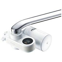 蛇口直結型浄水器 三菱ケミカルクリンスイ 蛇口直結型浄水器「クリンスイ CSPシリーズ」13+2物質除去タイプ CSP801‐WT