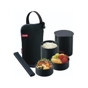 象印 保温弁当箱 「お・べ・ん・と」(茶碗1.2杯分) SZ‐JB02‐BA ブラック