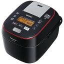 おどり炊き ECJ-XW100 パナソニック 可変圧力スチームIH炊飯ジャー「Wおどり炊き」(5.5合) SR−SPA107−K (ブラック)(送料無料)