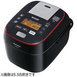 おどり炊き ECJ-XW100 パナソニック 可変圧力スチームIH炊飯ジャー「Wおどり炊き」(1升) SR−SPA187−K (ブラック)(送料無料)