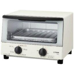 タイガー タイガー TIGER オーブントースター 「やきたて」 [1000W/食パン2枚] KAK−A100W−ホワイト