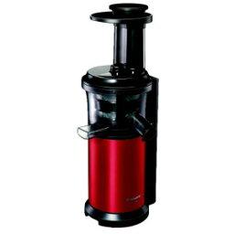 ジューサー パナソニック スロージューサー 「ビタミンサーバー」 MJ−L400−R メタリックレッド