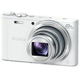 サイバーショット ソニー SONY デジタルスチルカメラ「Cyber−shot」 DSC−WX350/W (ホワイト)