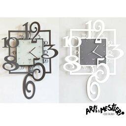 ARTI&MESTIERI 時計 Arti&Mestieri アルティ・エ・メスティエリ Amos No.2904 イタリア製 BIGサイズ 壁掛け時計 約38x50cm ドイツ製ムーブメント インテリア時計