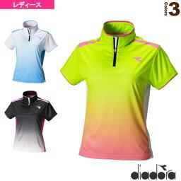 ディアドラ [ディアドラ テニス・バドミントン ウェア(レディース)]TEAM/W ゲームシャツ/レディース(DTL7342)
