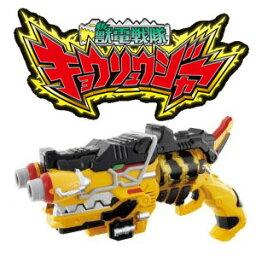 獣電戦隊 【新品】 獣電戦隊キョウリュウジャー 変身銃 ガブリボルバー (獣電池2個 1・14 付き)