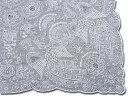 スワトウ 【人気商品】《鳳凰の舞》お出かけ用や飾り物、敷き物、ご贈答用に!【ギフト包装_のし宛書_承り】【送料無料】〜ハンドメイドハンカチの最高峰〜スワトウ手刺繍ハンカチExcellent qualityE703