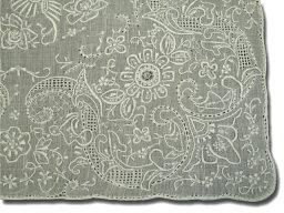 スワトウ お出かけ用や飾り物、敷き物、ギフト用に!手刺繍の最高峰 スワトウハンカチ Good qualityG322