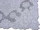 スワトウ お出かけ用や飾り物、敷き物、プレゼントに!手刺繍の最高峰 スワトウ ハンカチ 白 綿100% Good qualityG335