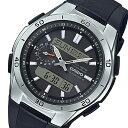 ウェーブ カシオ ウェーブセプター メンズ 電波 腕時計 時計 WVA-M650-1AJF ブラック 国内正規