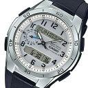 ウェーブ カシオ ウェーブセプター メンズ 電波 腕時計 時計 WVA-M650-7AJF シルバー 国内正規