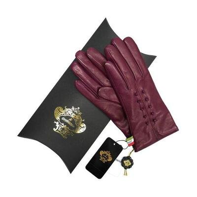 OROBIANCO オロビアンコ レディース手袋 ORL-1457 Leather glove 羊革 ウール PURPLE サイズ:7(20cm) プレゼント クリスマス【ポイント10倍】【送料無料】