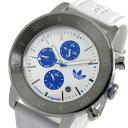 アディダス 腕時計 アディダス ADIDAS マンチェスター クオーツ メンズ 腕時計 時計 ADH3098 ホワイト【楽ギフ_包装】