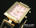 アンクラーク 腕時計(レディース) 時計 レディース ブランド 腕時計 ANNE CLARK アンクラーク 腕時計 ムービングトランプチャームブレス レディースウォッチ aa1030-17PG ピンクシェル×ピンクゴールド【送料無料】