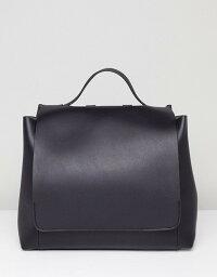 エイソス エイソス レディース バックパック・リュックサック バッグ ASOS DESIGN large minimal backpack Black